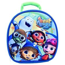 """Beat Bugs 9"""" 3D Lunch Bag w Hands Free Clip & Allergy / ID Window 52003712 - NWT"""
