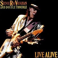 STEVIE RAY VAUGHAN - LIVE ALIVE - CD NEW SEALED