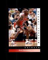 Michael Jordan/Best Defender Card 1992-93 Upper Deck Jerry West Selects #JW4