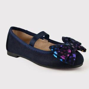 *Cat & Jack Toddler Girls' Vanda Mary Jane Ballet Flats W/ Starry Bow, Blue