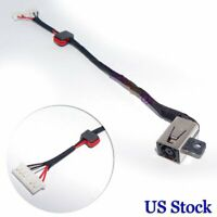 For Dell Inspiron P51F P51F001 Charging Port DC Power Jack Harness cable USA