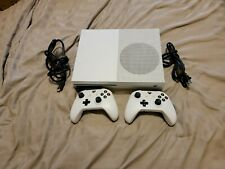 Microsoft Xbox One S 500GB White Console With  2 Controllers