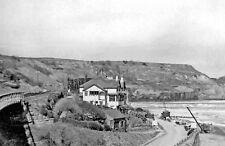 PHOTO  YORKSHIRE 1955 SANDSEND BAY NORTHWARD FROM TRAIN