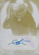 Star Wars The Last Jedi Series 2, Ian Whyte 'Bollie Prindel' Auto Printing Plate