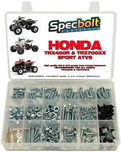 250pc Bolt kit Honda TRX450R ATV Body Plastics Fenders Frame Motor TRX450