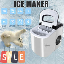 More details for large ice maker machine 2.2l 26lbs/24h portable countertop ice cube maker uk