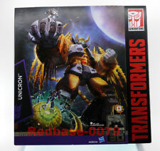 "Takara Tomy Transformers Platinum Edition UNICRON 15"" Figure 30th Anniversary"