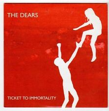 (EZ770) The Dears, Ticket To Immortality - 2006 DJ CD