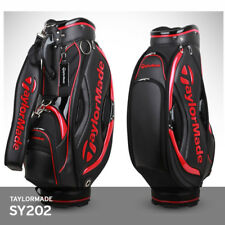 TaylorMade 2018 SY202 9.5In 5Way 8.5lb Men's Caddie Bag Cart Enamel  Black+Red