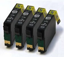 E-1631 x4 Black Compatible 16XL Ink Cartridges T1631 T1632 T1633 T1634 T1636
