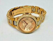 Ladies Michael Kors Rose Gold Tone Diamante Watch MK-4292 Small Strap