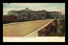 US POSTCARD NEW CARNEGIE LIBRARY SCHENLEY PARK PITTSBURGH PENNSYLVANIA