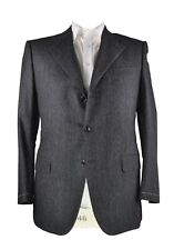St Andrews Extrafine Wool Gray Suit 42 (EU 53) Handmade in Italy (RLPL, S.Ricci)