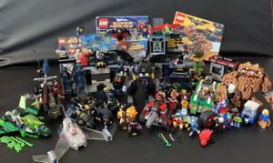 Hugh LEGO Lot DC Comics Super Heroes Batman 2012-2017, 9 Sets 41, Mini Figures!