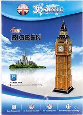 3D Jigsaw Puzzle BIG BEN London England Architecture Model Building 30 pieces