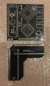 Amiga 500 TerribleFire TF530 RAM+IDE+CPU Expansion PCB - PLUS CPU RELOCATOR PCB!