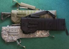 NCSTAR CVRSCB2919G TACTICAL CARBINE SCABBARD ARMY GREEN FULLY PADDED 3 POSITION
