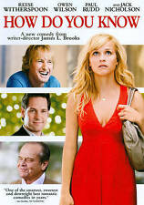 How Do You Know (DVD, 2011) Reese Witherspoon, Paul Rudd, Owen Wilson