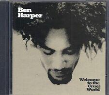 CD ALBUM 13 TITRES--BEN HARPER--WELCOME TO THE CRUEL WORLD