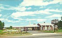 "Perry GA ""The Crossroads Motel & Restaurant"" Postcard  Georgia"