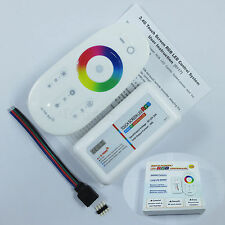 2.4G RF wireless Touch Remote 12-24V 18A RGB LED Controller Dimmable 4-RGB Light