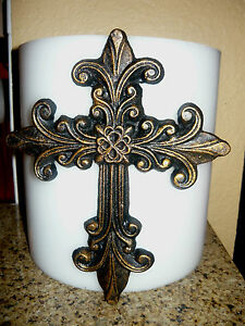 Large Cross Candle Pin for Pillar Candle. Decorative candle pin, Old World, NEW