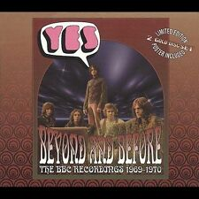 Beyond & Before: BBC Recordings 1969-1970 by Yes (CD, Sep-2002, 2 Discs, Cleopa…