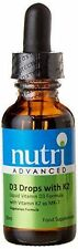 Nutri Advanced Vitamin D3 Drops with K2 30ml