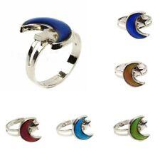Star Shape Change Mood Ring Emotion Feeling Changeable Band Adjustable Ring
