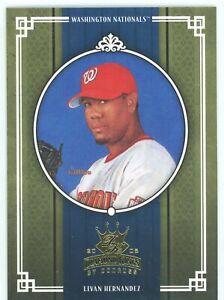 2005 Donruss Diamond Kings Baseball Washington Nationals Team Set
