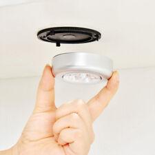 LED Mini Sensor de movimiento inalámbrico Techo Noche Luz Batería Dormitorio