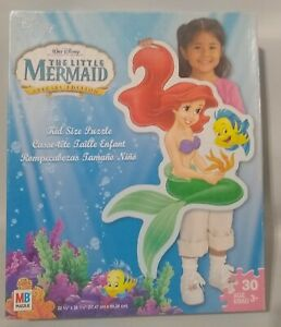 The Little Mermaid 30 Piece Kid Sized Floor Puzzle Ages 3+ Disney