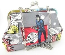 STAR TREK ORIGINAL SERIES KIRK SPOCK RED HANDMADE HANDBAG geek prom wedding