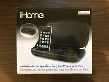 iHome iP37 Colortunes - Portable Speaker Docking Station for Iphone or Ipod NIB