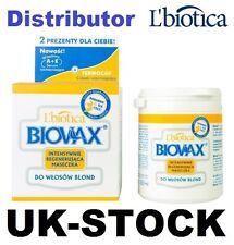 L'BIOTICA BIOVAX FOR BLOND HAIR HAIR MASK 250 ML + 2 GIFTS L BIOTICA LBIOTICA