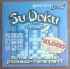PC CD ROM - SUDOKU CLASSIC 2 THE NATION'S NUMBER ONE PUZZLE CRAZE