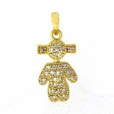 Fashion Gold Filled Flawless CZ inchesLittle Girlinches Pendant Free Shipping