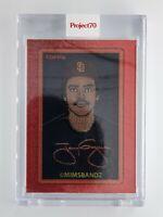 Topps Project 70 Tony Gwynn by Mimsbandz Card #51 San Diego Padres In Hand