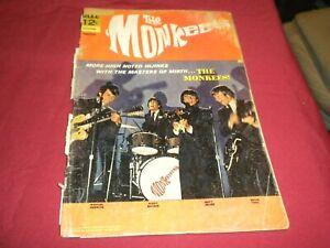 PA1 Monkees #9 dell 1968 silver age 0.5/pr comic!