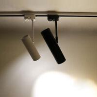LED COB Ceiling Track Light Picture Spotlight Orbit Rail Lamp Bedroom Exhibition