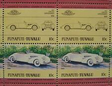 1937 CORD 812 #1 Supercharged Car 50-Stamp Sheet / Auto 100 Leaders of the World