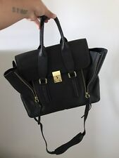 3.1 Phillip Lim Medium Pashli Black Leather Authentic Satchel Bag