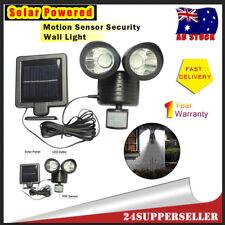 Solar Powered Outdoor Lamp PIR Motion Sensor Security Garden Wall Light AU