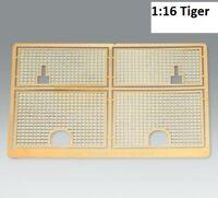Metall Schutzgitter Ätzteile Panzer Tiger 1  Heng Long 1 : 16