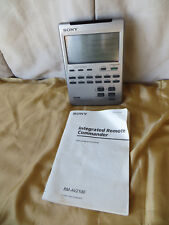Sony RM-AV2100 Lighted Touch Screen Integrated Remote Commander w/ Instructions