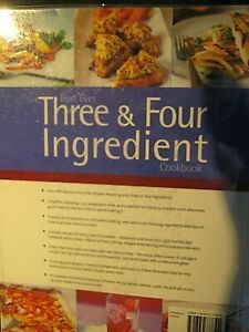 The Best Ever Three & Four Ingredient cook book