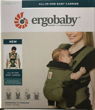 Ergobaby Omni 360 4 Position Infant Child Baby Carrier Khaki Green NEW AUTHENTIC