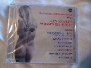THE LONDON JAZZ CHAMBER GROUP PLAYS KEN MOULE'S ADAM'S RIB SUITE. RE. CD SEALED