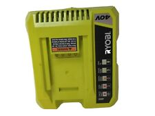 Ryobi 40V Slim Compact Lithium Battery Charger Model OP401 140199003
