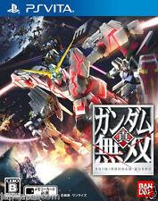 Used PS Vita Shin Gundam Musou  SONY PLAYSTATION JAPANESE IMPORT